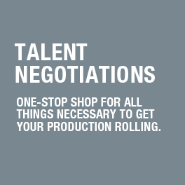 Talent Negotiations